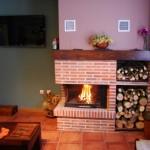 Casa Rural La Flora salón